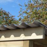 Chenil avec grand toit