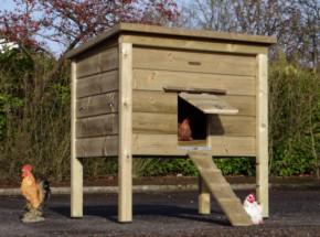 Poulailler nichoir Chicky 2 en bois imprégné