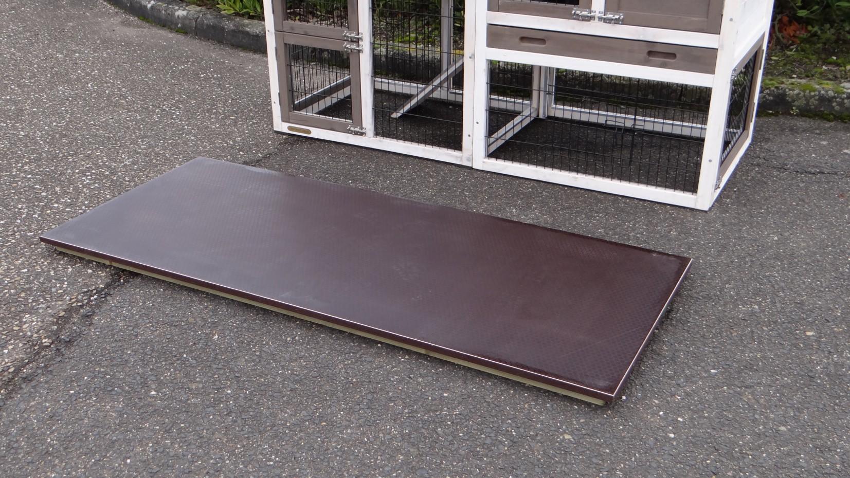 plaque de sol pour clapier prestige medium. Black Bedroom Furniture Sets. Home Design Ideas