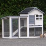 Clapier Advance avec enclos avec toit couvert
