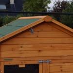 Poulailler pratique avec grenier et enclos
