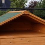 Poulailler avec storage pratique