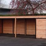 Chenil de 12 m² avec toit