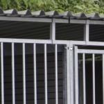 Chenil pour chien avec toit