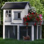 Poulailler Sunshine avec petit jardin