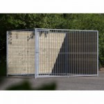 Chenil pour chien FERM 2x3m