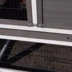 Clapier pour lapin avec enclos