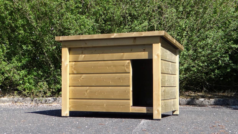 niche pour chien select 2 isol e. Black Bedroom Furniture Sets. Home Design Ideas