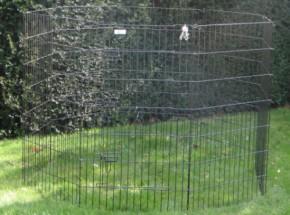 Enclos lourd pour lapin 8 panèle hauteur 107cm