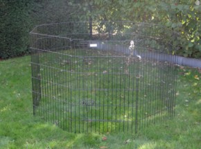 Enclos lourd pour lapin 8 panèle hauteur 91cm