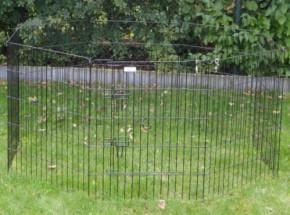 Enclos pour chiots 8 panneaux 76cm